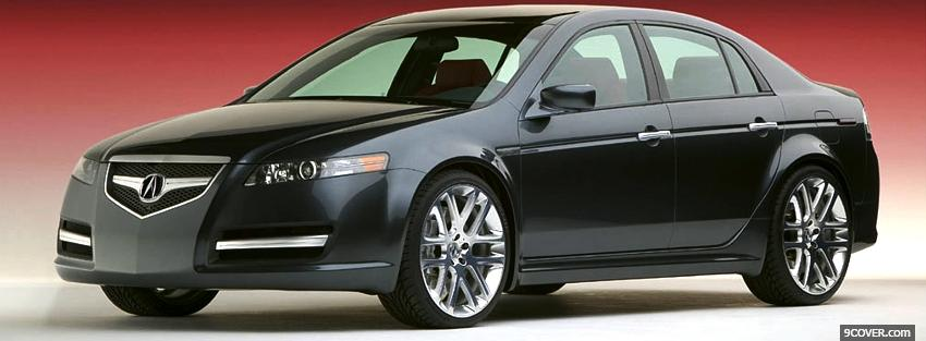 Photo 2005 acura tl a spec car Facebook Cover for Free
