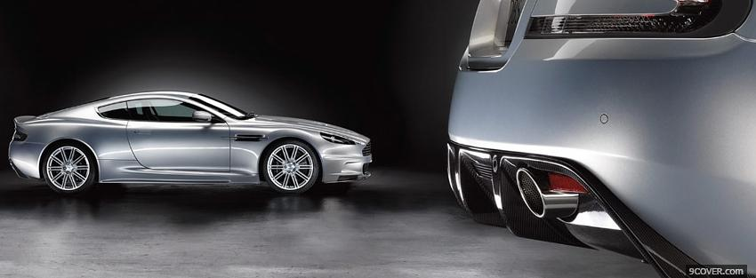 Photo aston martin dbs car Facebook Cover for Free