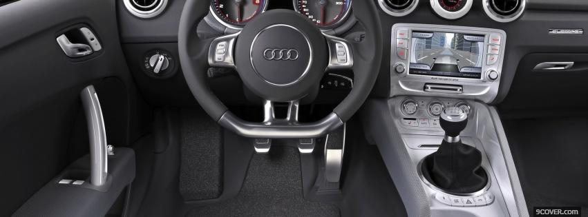 Photo audi shooting brake interior Facebook Cover for Free