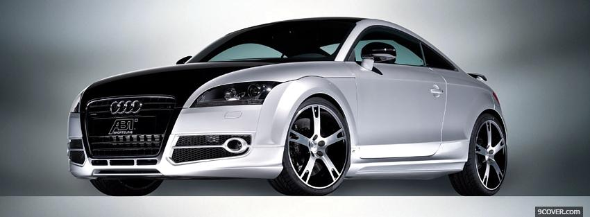 Photo audi tt a5 car Facebook Cover for Free