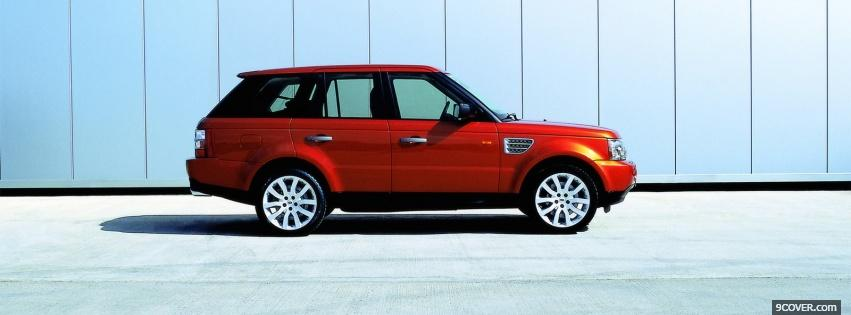 Photo side of range rover sport Facebook Cover for Free