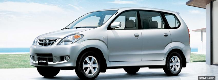 Photo toyota avanza car Facebook Cover for Free