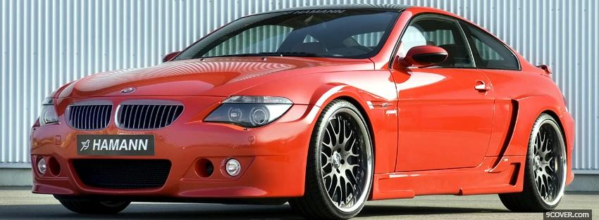Photo bmw m6 hamann car Facebook Cover for Free