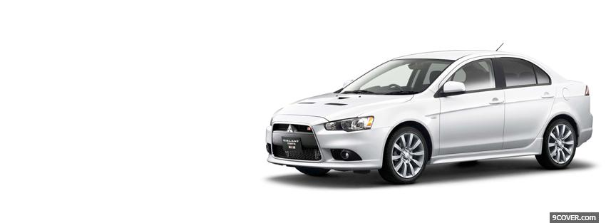 Photo mitsubishi galant fortis ralliart Facebook Cover for Free