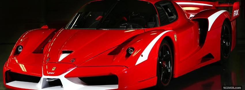 Ferrari Fxx Evolution Photo Facebook Cover