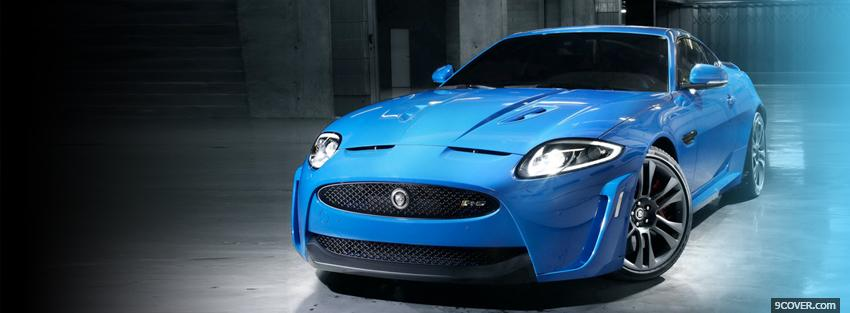 Photo jaguar xkr s 2011 car Facebook Cover for Free