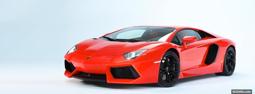 Photo lamborghini aventador lp car Facebook Cover for Free