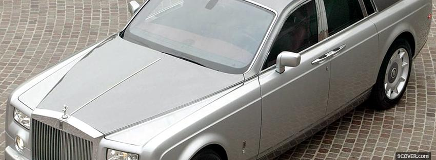 Photo 2004 rolls royce car Facebook Cover for Free