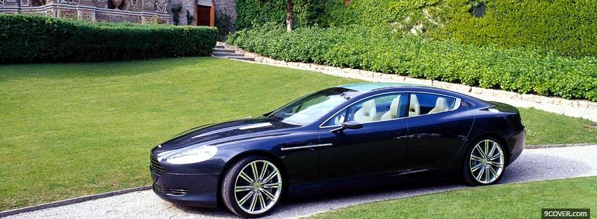 Photo aston martin rapide car Facebook Cover for Free