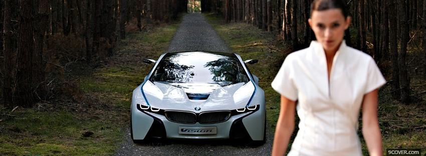 Photo efficient dynamics bmw Facebook Cover for Free
