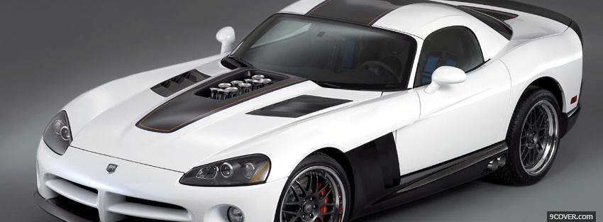 Photo diamondback dodge viper Facebook Cover for Free