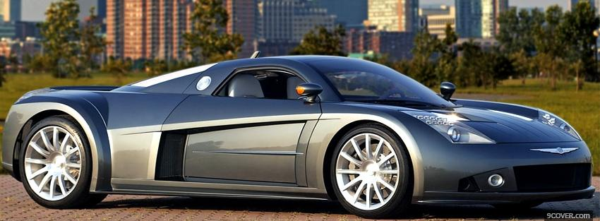 Photo me four twelve chrysler car Facebook Cover for Free
