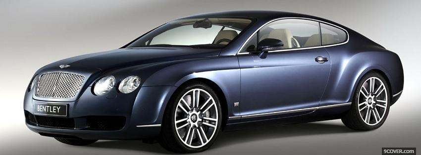 Photo diamond bentley continental Facebook Cover for Free