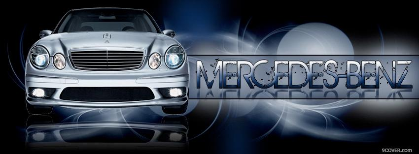 Photo mercedes benz car Facebook Cover for Free