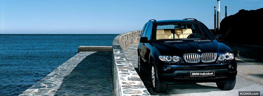Photo x5 bmw car Facebook Cover for Free