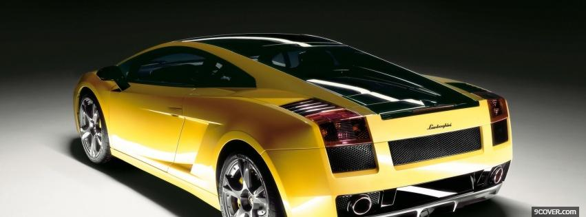 Photo 2006 lamborghini gallardo Facebook Cover for Free