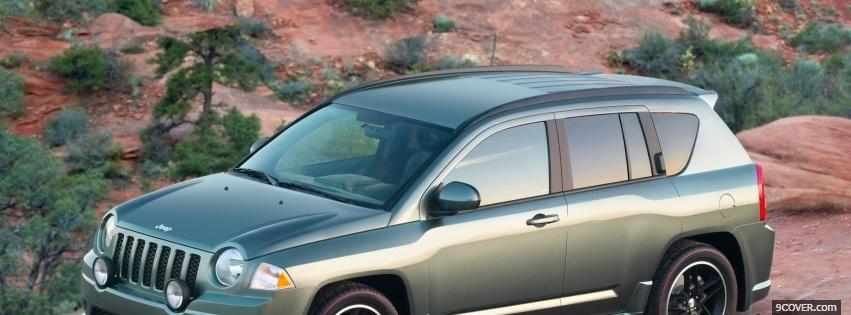Photo jeep compass 2009 Facebook Cover for Free