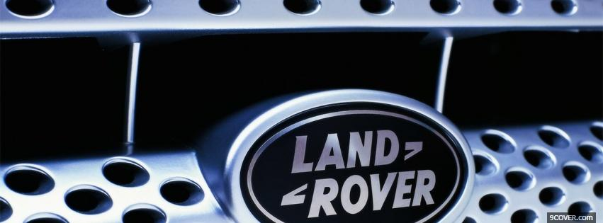 Photo land rover label Facebook Cover for Free