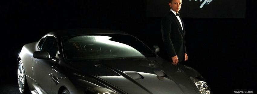Photo aston martin dbs james bond Facebook Cover for Free