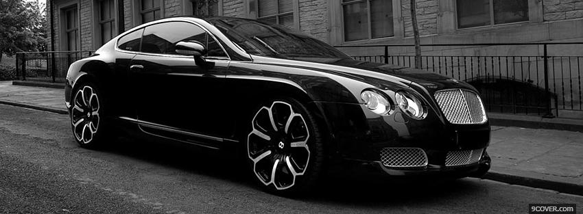 Photo car bentley continental Facebook Cover for Free