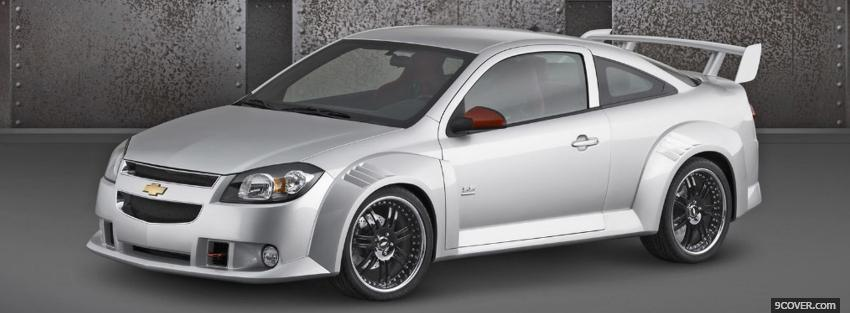 Photo chevrolet cobalt ss silver Facebook Cover for Free
