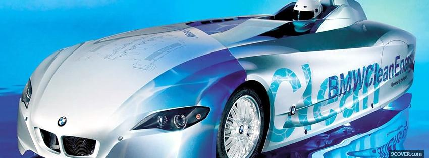 Photo cool hydrogen bmw Facebook Cover for Free