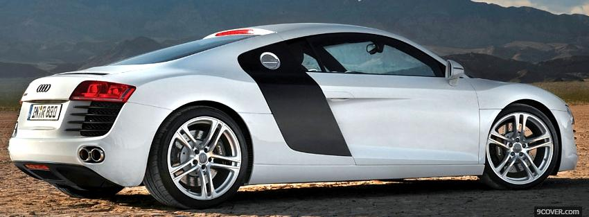 Photo audi r8 side car Facebook Cover for Free