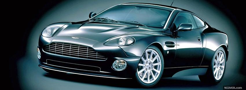 Photo aston martin venquish car Facebook Cover for Free