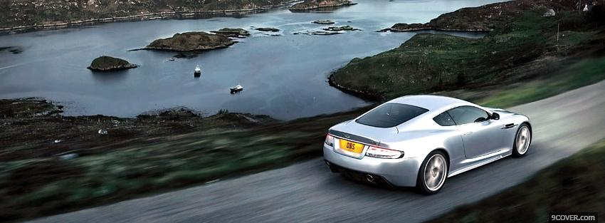 Photo water and aston martin Facebook Cover for Free
