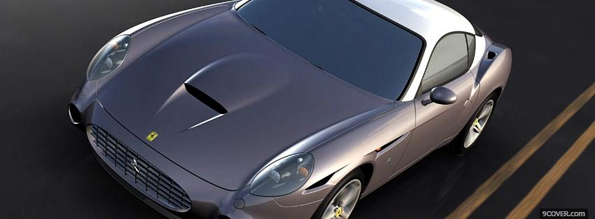 Photo ferrari 575 gtz Facebook Cover for Free