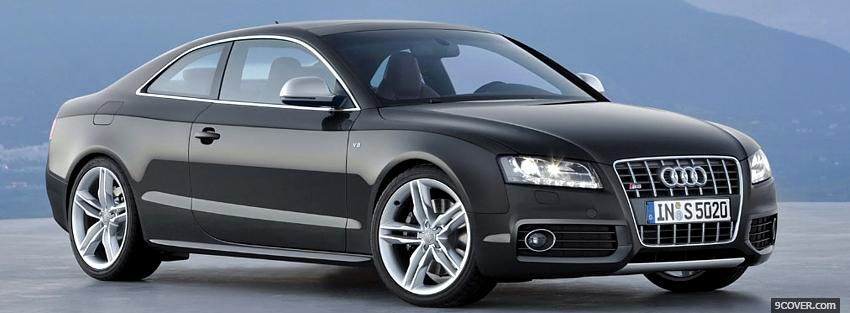Photo audi s5 car Facebook Cover for Free