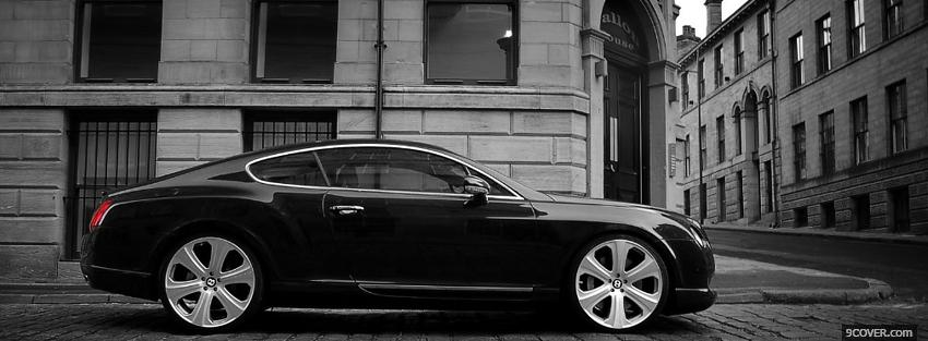 Photo bentley continental side Facebook Cover for Free