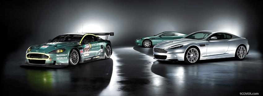 Photo aston martin dbs cars Facebook Cover for Free