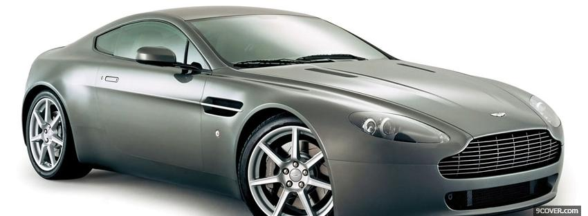 Photo aston martin vantage 2006 car Facebook Cover for Free