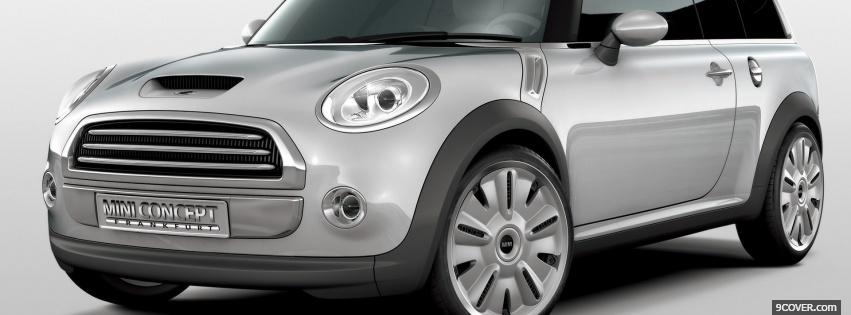 Photo countryman mini cooper Facebook Cover for Free