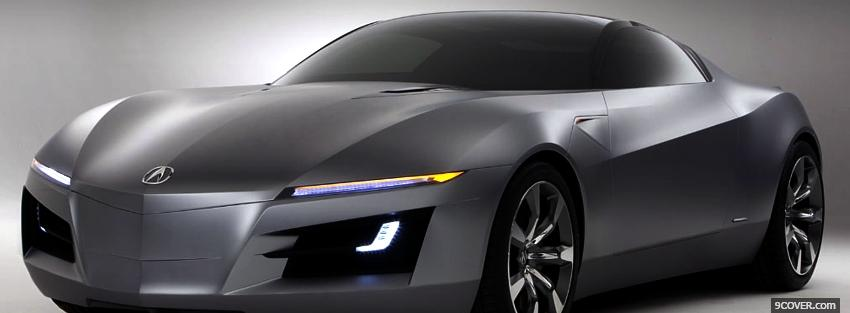 Photo 2012 acura nsx car Facebook Cover for Free