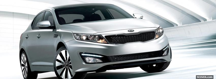 Photo kia optima 2007 car Facebook Cover for Free