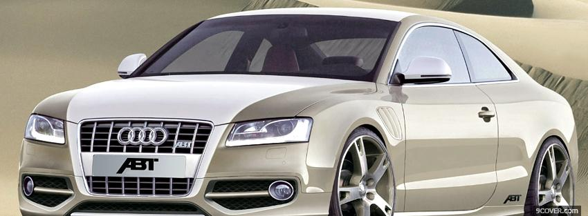 Photo abt audi as5 car Facebook Cover for Free