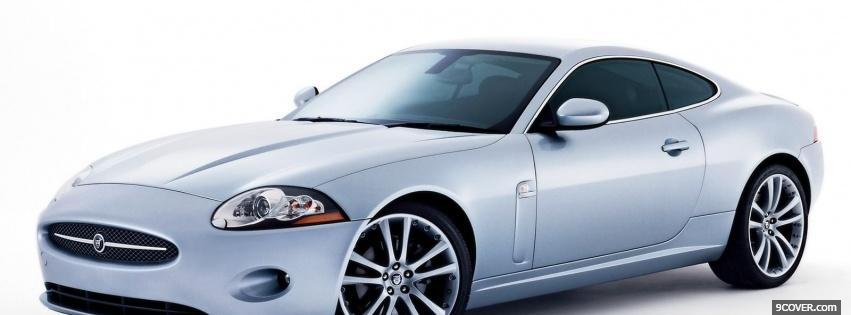 Photo jaguar xk coupe car Facebook Cover for Free