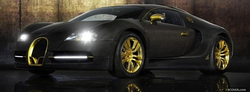 Photo mansory bugatti veyron car Facebook Cover for Free