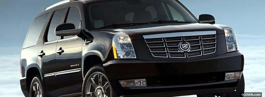 Photo cadillac escalade car Facebook Cover for Free