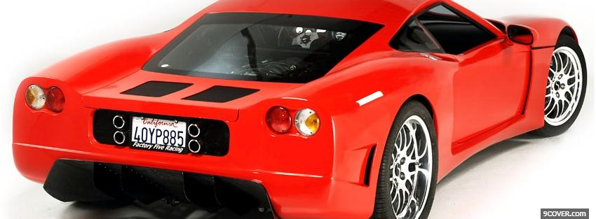 Photo factory five gtm car Facebook Cover for Free