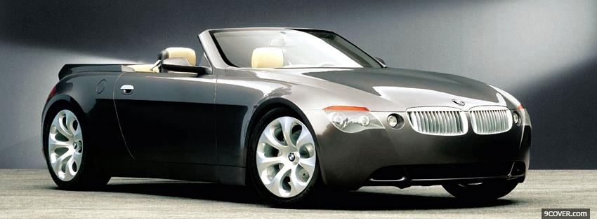 Photo convertible bmw z9 Facebook Cover for Free