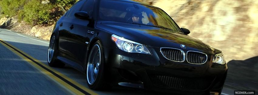 Photo turbo m5 bmw car Facebook Cover for Free