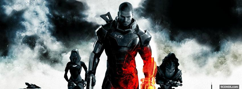 Photo video games battlefield mass effect Facebook Cover for Free