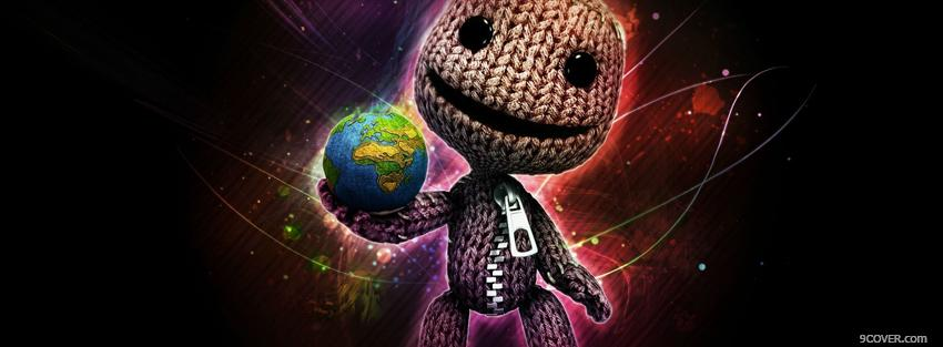 Photo video games cool little big planet Facebook Cover for Free