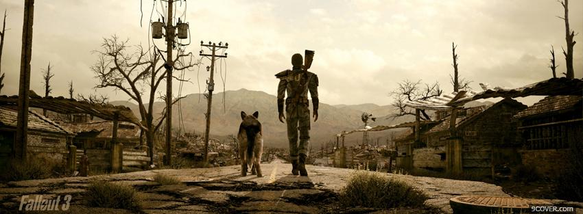 Photo video games fallout 3 Facebook Cover for Free