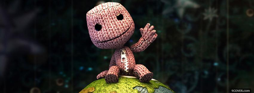 Photo video games little big planet 2 Facebook Cover for Free
