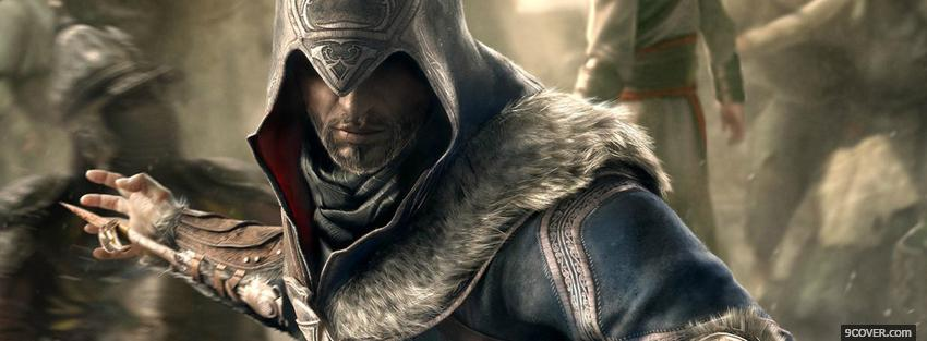 Photo warrior of assassins creed revelations Facebook Cover for Free