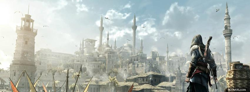 Photo assassins creed kingdom Facebook Cover for Free
